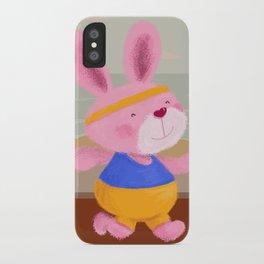 Bunny Runner iPhone Case
