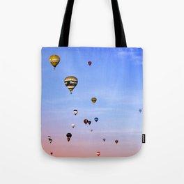 Balloon fiesta Tote Bag