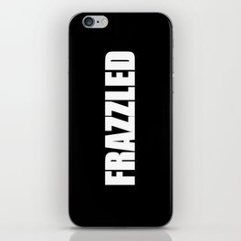 Frazzled iPhone Skin