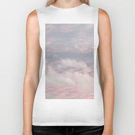 Cloud layers of Pink Biker Tank