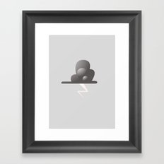 Andy's Thundercloud Framed Art Print