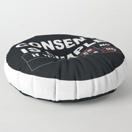 Consent Is Simple Floor Pillow