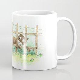 Mew with a long tail Coffee Mug