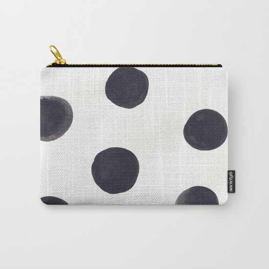 Watercolour Dots Carry-All Pouch