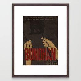 BUNOHAN Film Poster Framed Art Print