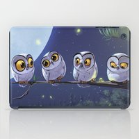 owls iPad Cases featuring Owls by biboun