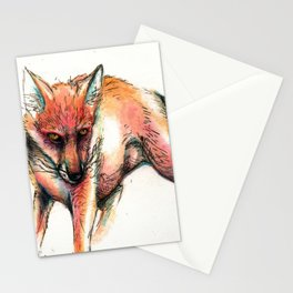 Phobia 1  Fox Stationery Cards