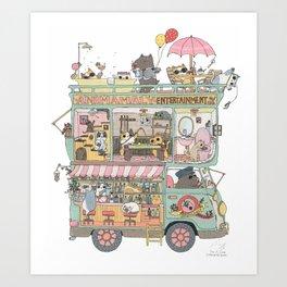 The dream car Art Print