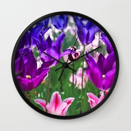Love Is Everywhere Wall Clock