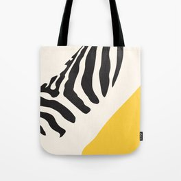 Zebra Abstract Tote Bag