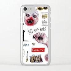 lucas david starter pack Clear iPhone Case