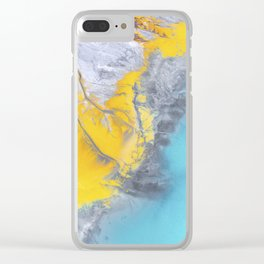 Aerial Dreams Clear iPhone Case