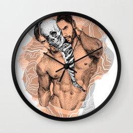 Split - Remix NOODDOOD Wall Clock