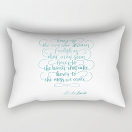 La La Land Rectangular Pillow