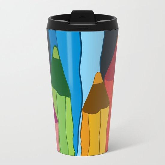Creativity Metal Travel Mug