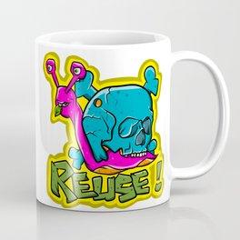 Recycle Reuse Snail Coffee Mug