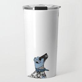 The gentleman and the dog Travel Mug