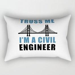 Civil Engineer Rectangular Pillow