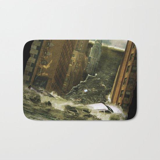 Water vs City Bath Mat