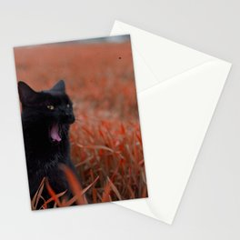 Mr. Moon Takes A Break Stationery Cards