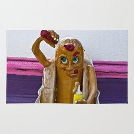 Hot Dog Dressing Up Rug