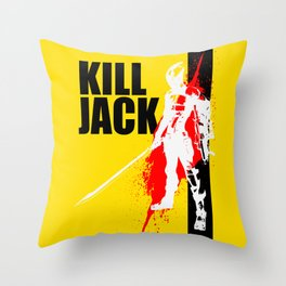 KILL JACK - ASSASSIN Throw Pillow