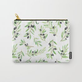 Olive Branch Repeat Print Carry-All Pouch