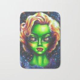 Iconic Alien Women: Marilyn Bath Mat
