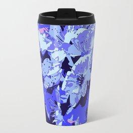 Almond blossom pop-art Travel Mug