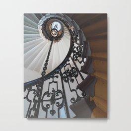 Winding staircase Metal Print