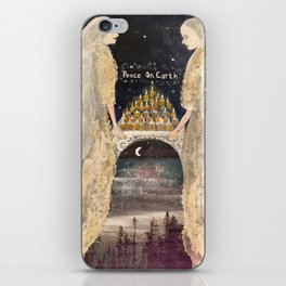 Peace Angels iPhone Skin