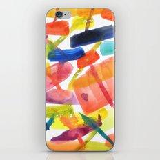 Abstract Brushstrokes iPhone & iPod Skin