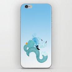 surfing 4 iPhone & iPod Skin