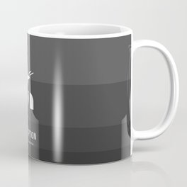 Flat Christopher Nolan movie poster: Inception Coffee Mug