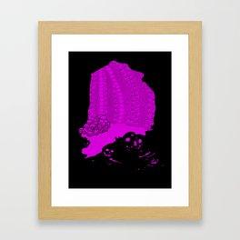 Catacombs Framed Art Print