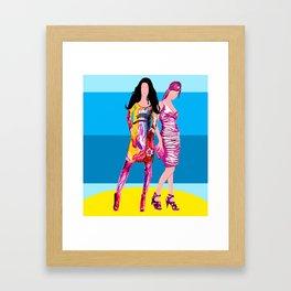 Catwalk Framed Art Print