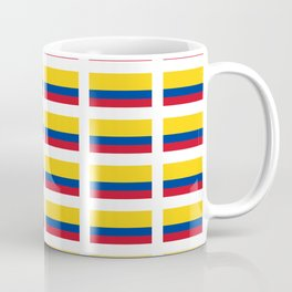 Flag of Colombia 2 -Colombian,Bogota,Medellin,Marquez,america,south america,tropical,latine america Coffee Mug