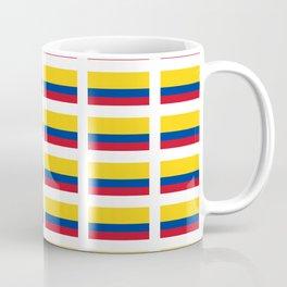 Flag of Colombia 2 -Colombian,Bogota,Medellin,Marquez,america,south america,tropical,latine america Coffee Mug