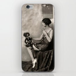 Naughty Dolly iPhone Skin