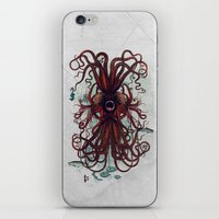 cthulu iPhone & iPod Skins featuring Cthulu by Sybille Sterk