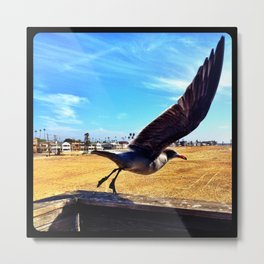 Preparing for liftoff. Metal Print