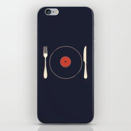 Vinyl Food iPhone Skin