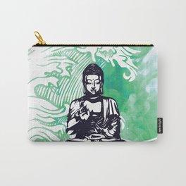 Buddha Typhoon Emerald Smoke Carry-All Pouch
