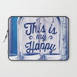 This Is My Happy Place Vintage Sign Laptop Sleeve