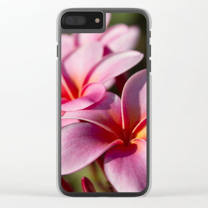 Kaupo Summer Treasure Clear iPhone Case