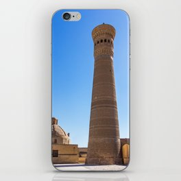 Kalyan minaret - Bukhara, Uzbekistan iPhone Skin