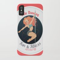 fitness iPhone & iPod Cases featuring Pole Friends - Fun & Fitness by Pole Friends Shop