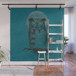 Winter Owl II Wall Mural