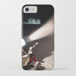 Snowmaker at work  iPhone Case