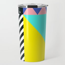 Memphis pattern 90 Travel Mug